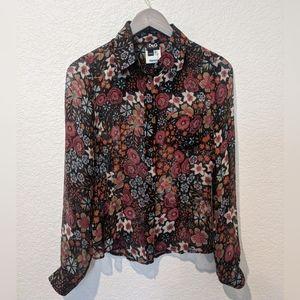 DOLCE & GABBANA silk floral blouse